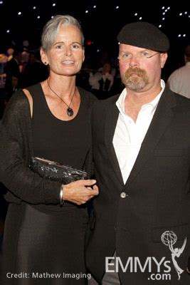 Eileen Walsh (L) and Jamie Hyneman attend Governor's Ball