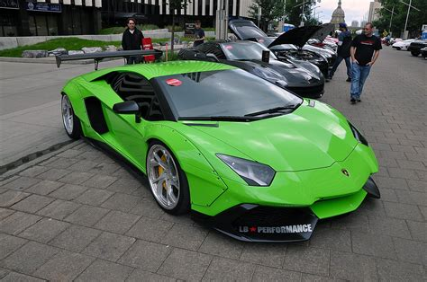 Cars Don't Get Much Crazier Than A Lime Green Liberty Walk