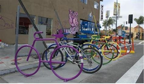 Visual Review of Proposed Bike Corral in OB