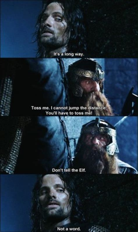 Gimli Lord Of The Rings Quotes