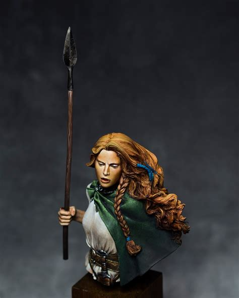 Boudicca, Celtic Queen by Matteo Di Diomede · Putty&Paint