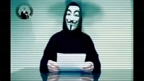 Anonymous - Message to the UK government - YouTube