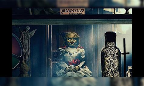 Has real-life 'demonically possessed' Annabelle doll