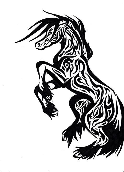 Horse Tattoos Designs, Ideas and Meaning | Tattoos For You