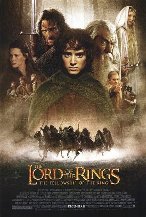 Lord of the Rings 1: The Fellowship of the Ring 27x40