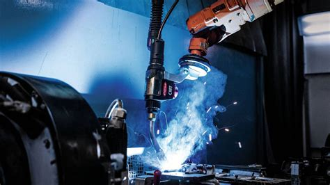 Robotic welding with the CMT welding process | magazine