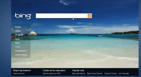 Bing html 5 is nearby: Bing Instant part of update - State
